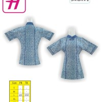 Busana Wanita, Desain Baju Batik, Toko Baju Batik Online, SMBKV1