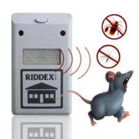 Jual Riddex Pest: Alat Pengusir Tikus Kecoa Nyamuk Ultrasonik Tanpa Racun Murah