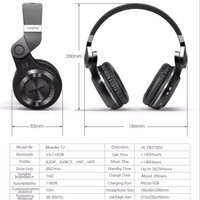 Jual Original Bluedio T2+ Turbine Hurricane Wireless Headphone Bluetooth Murah