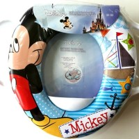 Jual Toilet Training Anak - Soft Baby Potty Seat Handle Mickey K075 Murah