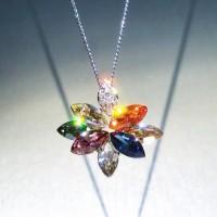 harga Liontin Lapis Emas Perhiasan Kristal Swarovski Elements Fliz Ps15383 Tokopedia.com