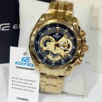 Jual CASIO EDIFICE EF 550 GOLD BLACK DIAL Murah