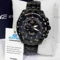 Jual CASIO EDIFICE EF 550 BLACK Murah