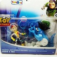 ACTION FIGURE TOY STORY JESSIE & REX (WOODY BUZZ LIGHTYEAR)