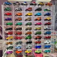 Terlaris !!! Rak Display Hot Wheels isi 50 box (full acrylic)
