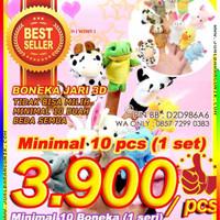 Jual Animal Finger Puppets (Boneka Jari Binatang Hewan) Mainan Anak Murah