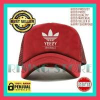 topi Trucker Adidas yeezy logo-tisha store