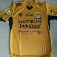 Jersey Persib Bandung Away Gold Liga 1 Gojek Traveloka Murah