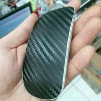 Skin Mouse Magic For Macbook Black Carbon Texture 3M Original Japan
