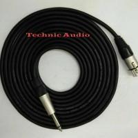 Jual kabel cable mic mik mikrofon 10 meter microphone karaoke profesional Murah