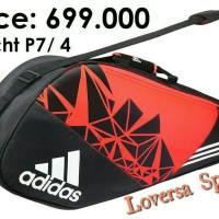 Tas badminton/tas bulutangkis/tas tenis adidas wucht P7-4 original