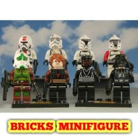 LEGO MINIFIGURE Star Wars Sand Troopers Starwars Bricks Minifigures