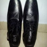 sepatu laki-laki kulit asli sukaregang garut