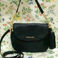 Michael Kors Bedford Medium Tassel Black shoulder Bag