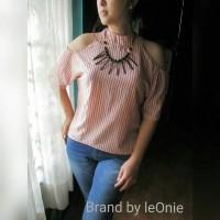 Jual Baju sabrina import bangkok atasan wanita blouse terbaru monica top Murah