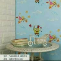 Wallpaper Sticker / Sticker Dinding Spongebob 10M