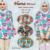 Blouse // atasan baju kantor muslim