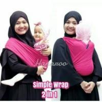 Jual Hanaroo Gendongan Kaos / Geos Simple Wrap Murah