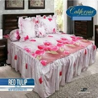 Jual SEPREI RUMBAI CALIFORNIA @RED TULIP Murah