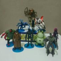 Action Figure / Miniatur Mainan Topper Ben 10 Alien Force set isi 10