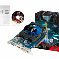 VGA HIS Radeon R7 250 ICOOLER 2GB DDR5 BOOST CLOCK UTK PC KOMPUTER