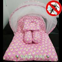 Kasur bayi lipat eggs/ kasur bayi lipat eggs pink/ selimut bayi