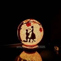 Jual lampion benang/lampi tidur romantic love Murah
