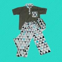 Sarcelkoci Sarung Celana Koko Peci Anak 5-10 Tahun
