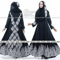 Jual Abaya Pesta Ori Import Alkhatib Collection Murah