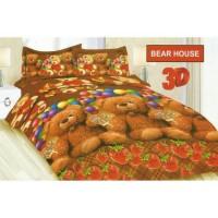 sprei bonita 180 bear house uk.180x200