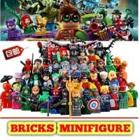 Jual GRATIS LEGO MINIFIGURES Super Hero batman star wars friends nexo ninja Murah