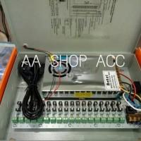 harga Power Supply Cctv 12v 20a Panel Box Sudah Lengkap Dengan Colokan Power Tokopedia.com