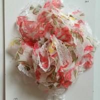 Jual headband red flower Murah