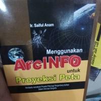 menggunakan arcinfo untuk proyeksi peta - saiful anam