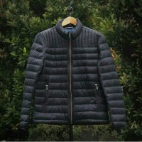 TOMMY HILFIGER QUILTED PACKABLE JACKET NAVY ORIGINAL
