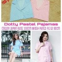 Jual Dotty Pastel Pajamas fit to L Murah
