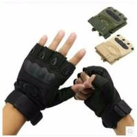 Jual Taktis Half Finger Gloves Bersepeda OJ Murah