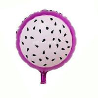 Balon Foil Buah Naga / Balon Foil Buah / Balon Buah / Balon Karakter