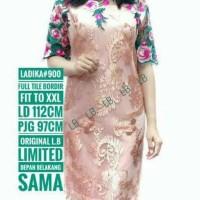 Jual AGS 24 Pakaian Dress brokat premium import Code 30 Murah