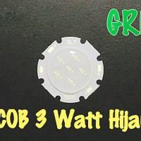 LED HPL 3 Watt GREEN / Hijau Besar 28/20 mm
