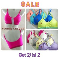 CRAZY SALE 2=50.000 , Sport bra Young Curve by Young Hearts 003