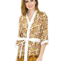 Jual L-875 Cute Elegant Pattern Lingerie Kimono Murah