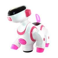 Jual Best Mainan Anak Robot Anjing Menggemaskan Pink Murah