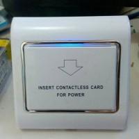 Saklar pintar card Hemat Energi Smart switch kartu hotel energy saver