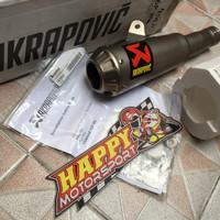 Knalpot Akrapovic titanium GP Yamaha R6 slip on original slovenia