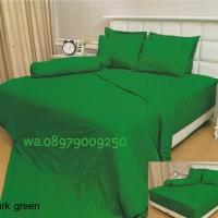 BEDCOVER SET INTERNAL VALERIE QUINCY DARK GREEN 180X200X30