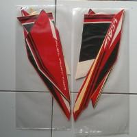 Stiker Striping Motor Yamaha Vixion Advance 2016 Hitam