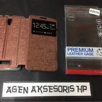 Flipcover LENOVO A2010 Dual 4G LTE 4.5 inchi Sarung Buku Flip Case