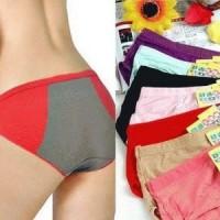 Jual New  Celana Dalam Menstruasi CD Mens Haid Anti Bocor Tembus All Size Murah