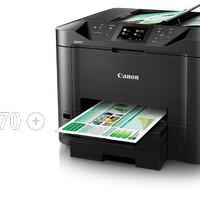 Printer Canon Maxify MB5470 Print,Scan ,Copy Duplex,LAN,WiFi-CNNMB5470